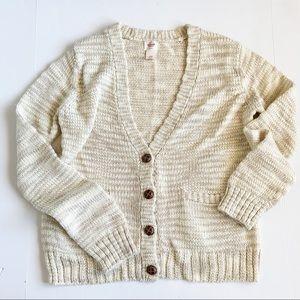 Slouchy grandpa cardigan sweater Mossimo XXL